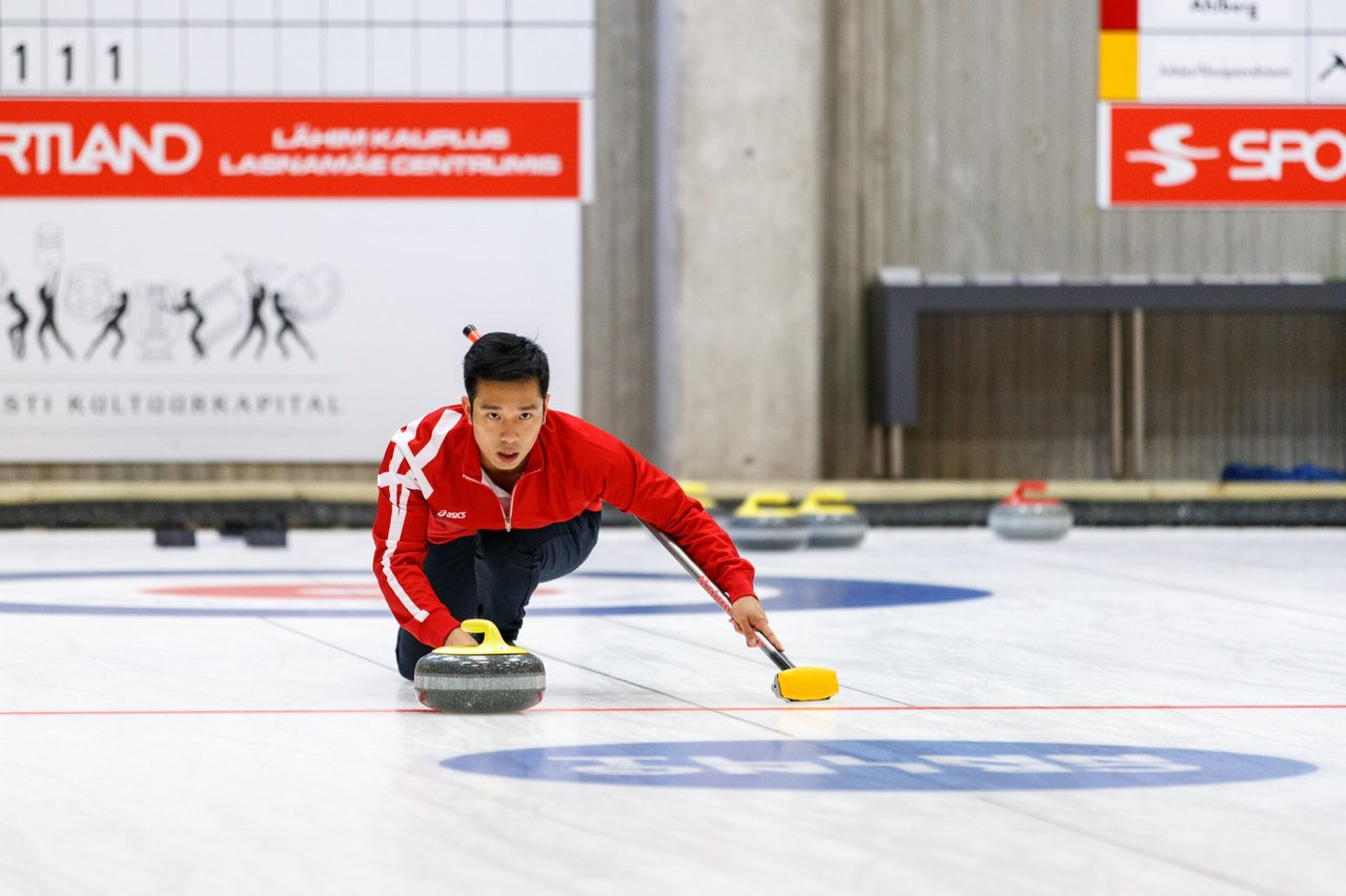 5746e3b5483 Loh Cai Hao, 23, was part of the first Singaporean duo to finish 16th in  the World Curling Tour last year. PHOTO COURTESY OF CURLING TALLINN